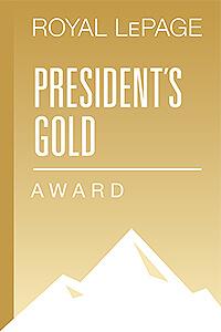 Royal LePage President's Gold Award